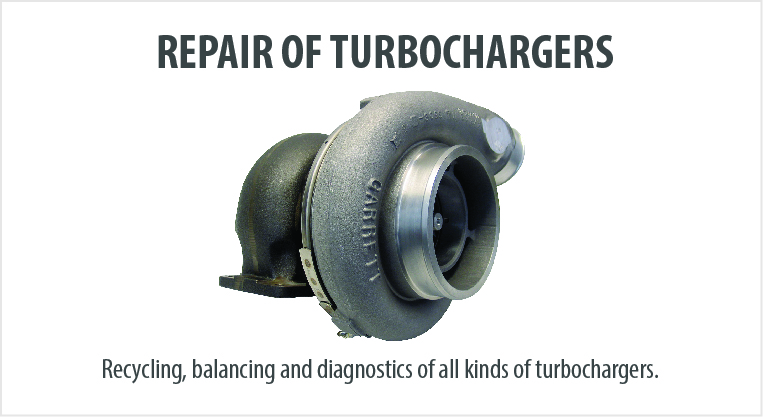 GR Turbo has vast inventory in stock of the massive turbochargers systems